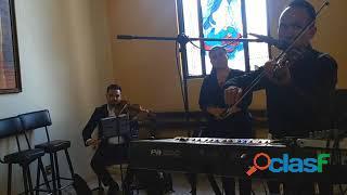 """Misa novia boda """"coro celestial guadalajara"""" jalisco zapopan soprano tenor violin organo chelo fla"""