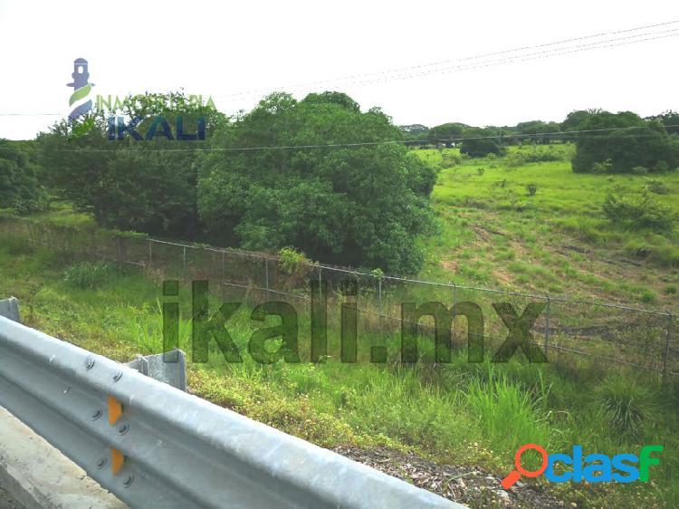 Venta Terreno 9 hectáreas Autopista México-Tuxpan Veracruz, Miguel Hidalgo