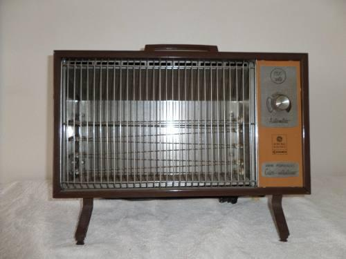 Antiguo calefactor general electric vintage de los 50´s