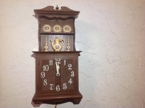 Antiguo reloj de pared spartus electrico cocina kzr