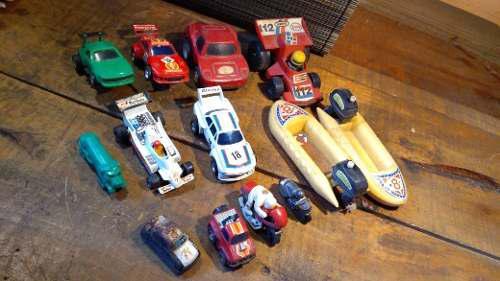 Carritos de juguete vintage antiguos años 70 80 y 90