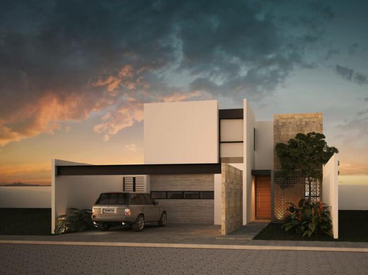 Casa en venta privada zelena conkal