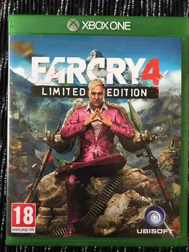 Far cry 4 limited edition xbox one nuevo (en d3 gamers)