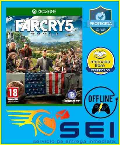 Far cry 5 xbox one offline