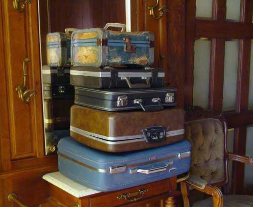 Hermosas maletas veliz antiguas vintage retro $380 c/u