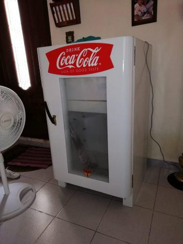 Hielera refrigerador coca cola años 30'-40s