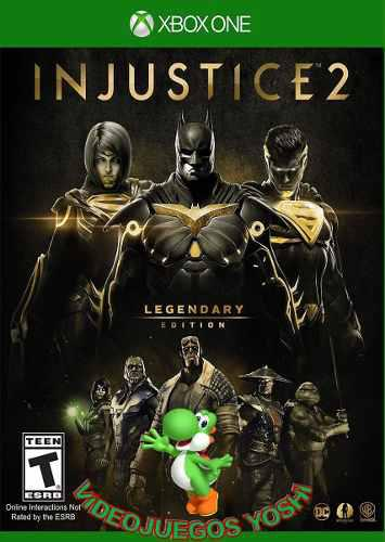 Injustice 2 legendary edition xbox one online