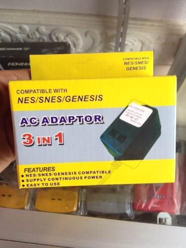 Kit cargador nes/snes/genesis 3-1+ cable av snes/n64/ngc