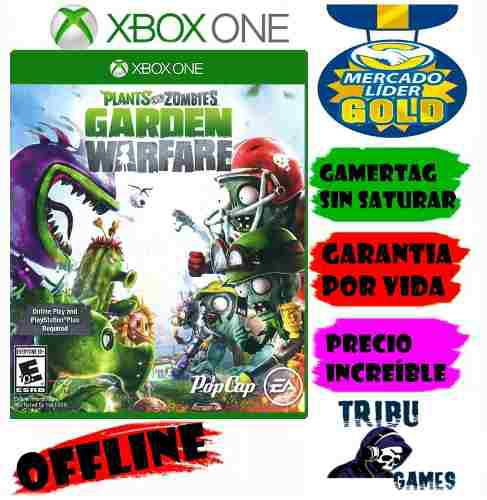 Plants vs zombies garden warfare xbox one offline