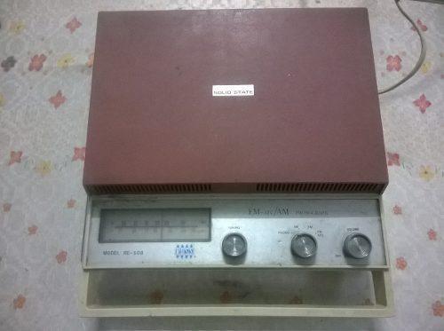 Radio fonografo portatil ross re-508 radio am/fm