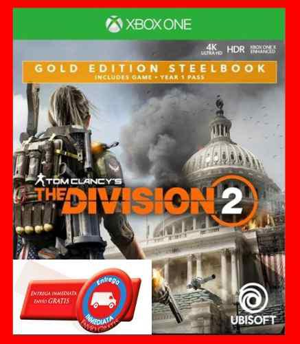 Tom clancy's the division 2 ultimate edition xbox one online