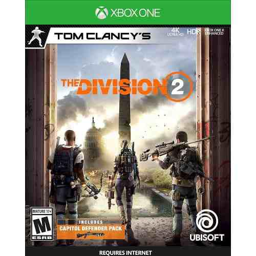 Tom clancy's the division 2 - xbox one - msi