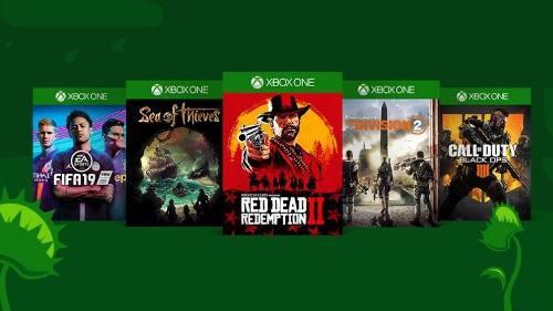 Xbox one juegos compra genérica