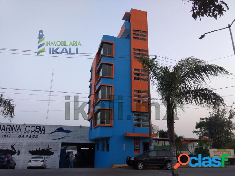 Renta Edificio 5 departamentos La calzada Tuxpan Veracruz, La Calzada