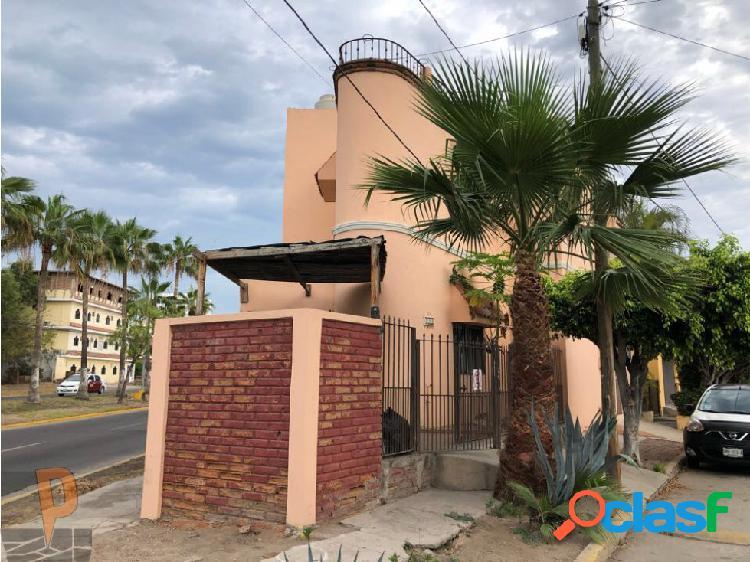 Casa para oficina sobre avenida en mazatlán