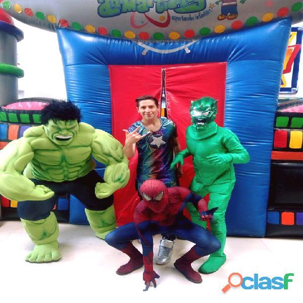 ¡fantastico show de spiderman!