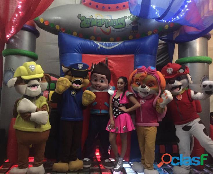 Show infantil de paw patrol en cdmx