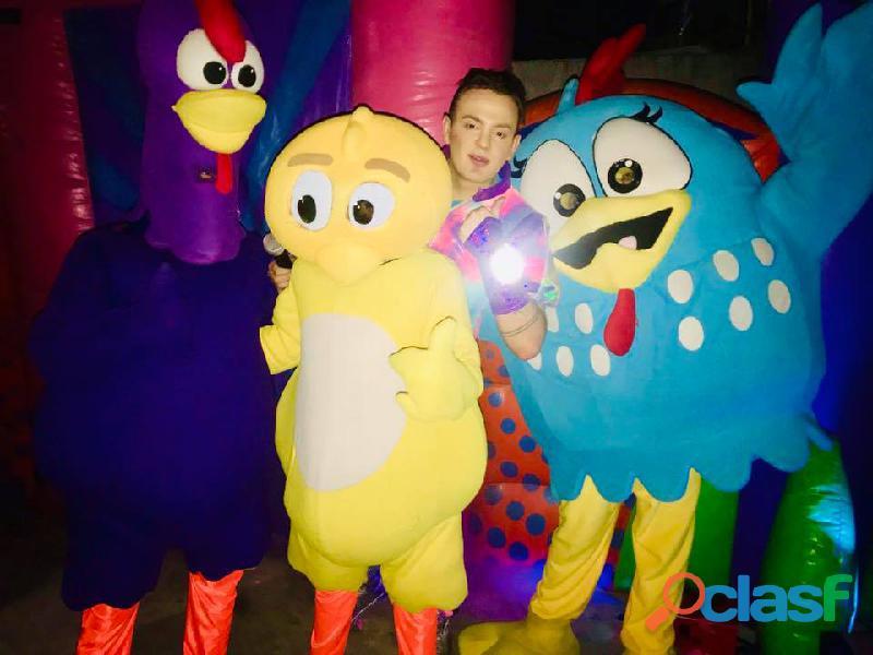 Super show de la gallina pintadita en cdmx
