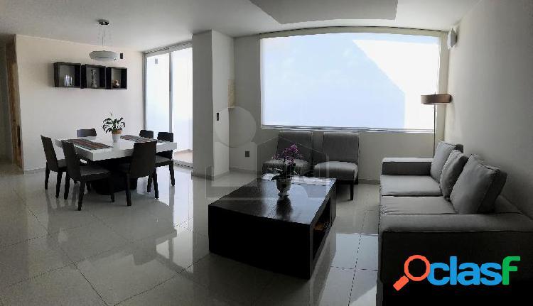 Departamento amueblado en renta en Colinas del Cimatario con acabados de lujo. 1