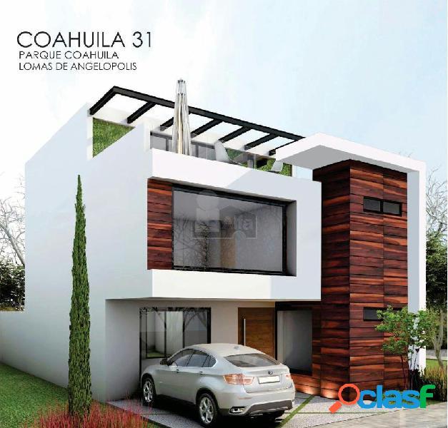 Casa en lomas de Angelòpolis, Parque Coahuila