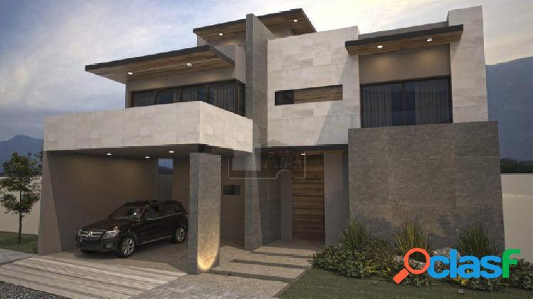Casa nueva en venta en col. bosques del valle 4to sector / san pedro garza garcía (nuevo león).