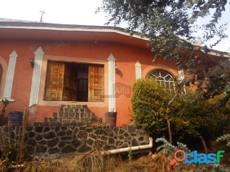 Casa en venta en san salvador cuauhtenco milpa alta, casa en venta 864m2 de superficie.