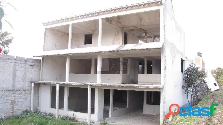 Casa uso de suelo en venta en san tadeo huiloapan, panotla, tlaxcala