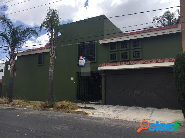 Casa en ex-hacienda morillotla