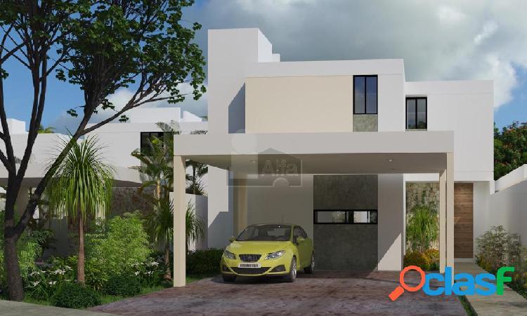 Casa de 2 plantas, 3 recamaras, 1 en pb con baño, privada, piscina, a 8 min de altabrisa