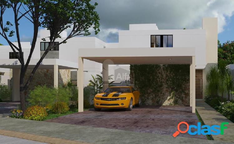 Casa de 2 plantas, 3 recamaras, piscina, cochera techada, privada, a 8 min de altabrisa.