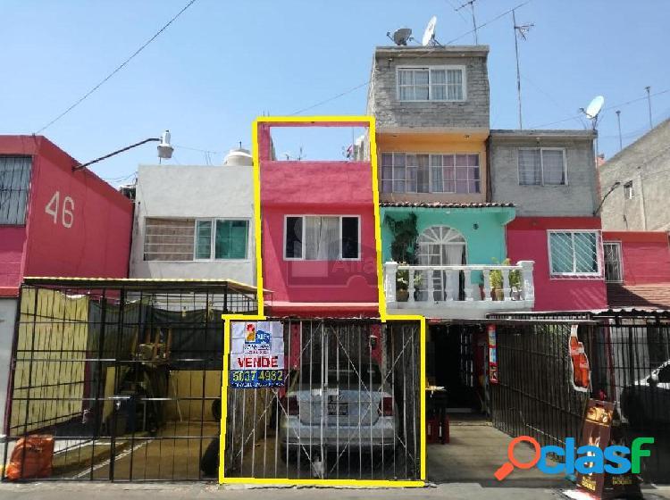 Casa en venta en iztapalapa, casa en venta a un costado de la plaza comercial las antenas.