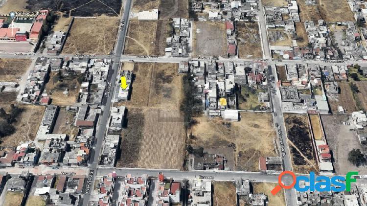 Terreno comercial en Venta, San Mateo Atenco, con locales.