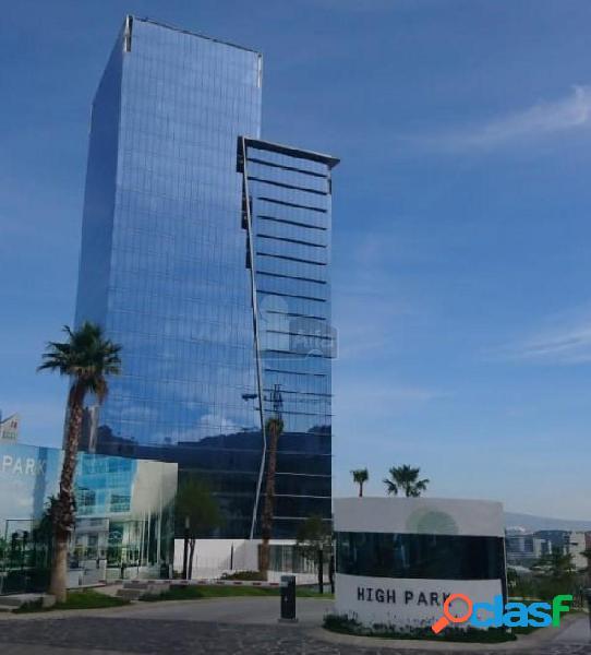 Oficina en renta centro sur high park,corporativo nuevo de 26 niveles.