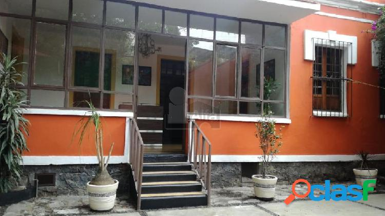 Oficina en renta en coyoacan, oficina en renta 14 m2 de superficie, baños compartidos.