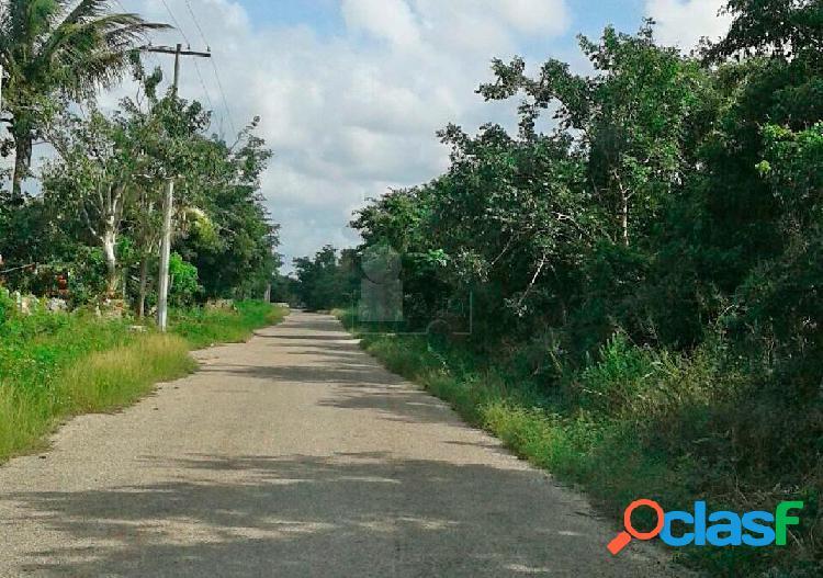 Terrenos en venta en mérida, listos para construir en chicxulub pueblo desde 250 pesos el m2