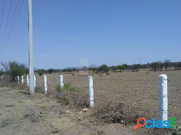 Terreno en venta en slp, sobre carretera 57 (negociable)