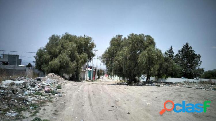 Terreno habitacional en venta en santa maría chiconautla, ecatepec de morelos, méxico