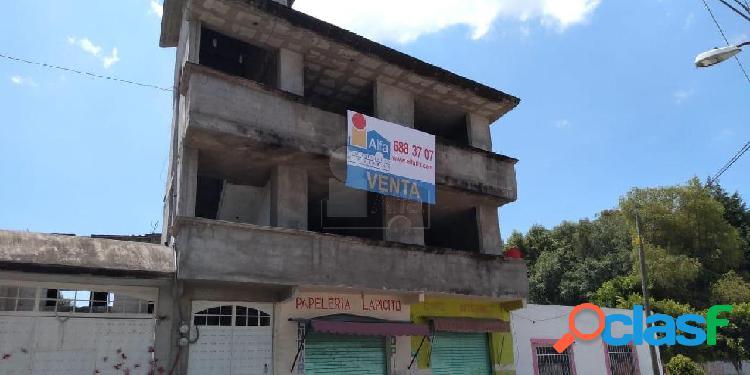 Terreno comercial en venta en tepetlapa, chiautempan, tlaxcala