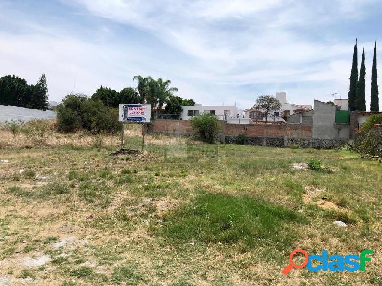 Terreno en venta de 1000 m2, villas del meson, juriquilla