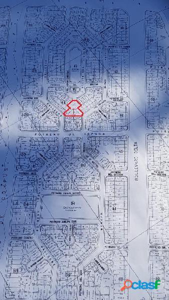 Tres terrenos juntos o por separado, 292.60 m2, 337.3m2 y 333.64 m2 En Delta y Eje Metropolitano