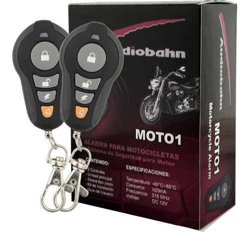 Alarma de moto audiobahn anti robo seguridad