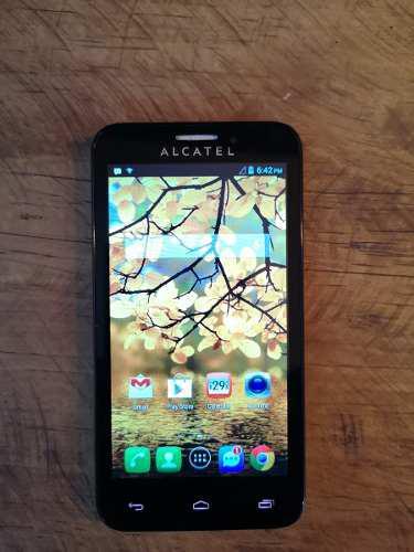 Alcatel one touch fierce como nuevo (telefono sencillo)