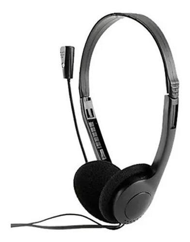 Audífono diadema microfono ultra delgada ajustable pc
