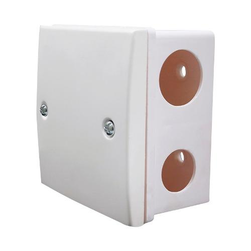 Caja universal pvc para cables de cctv camaras de seguridad