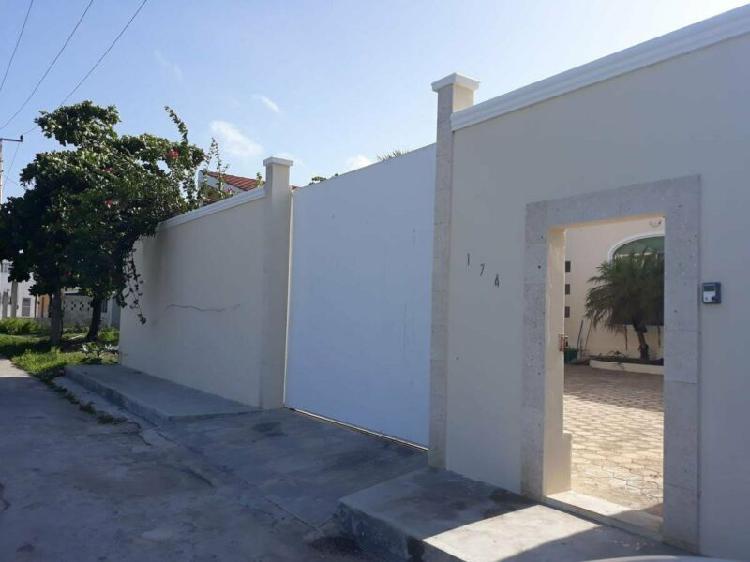 Casa en venta,merida yucatan, progreso a 3 calle de la