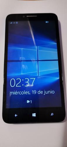 Celular alcatel one touch tapa azul windows 10