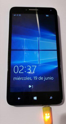 Celular alcatel one touch tapa azul windows 10 + regalo
