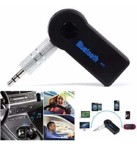Receptor audio bluetooth recargable microfono nuevo en caja