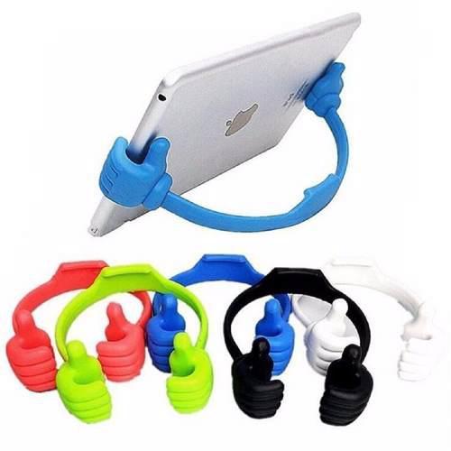 Soporte celular iphone galaxy ipad tablet huawei manitas