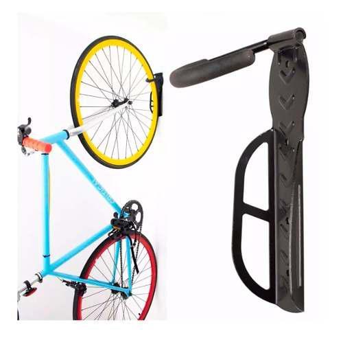 Soporte tipo gancho para colgar bicicleta de la pared